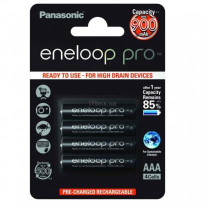 Аккумуляторы Panasonic AAA Eneloop Pro 930mAh (BK-4HCCE) 4шт