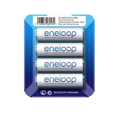 Аккумуляторы Panasonic Eneloop AA 1900mAh 4BP(BK-3MCCE/4LE) 4шт