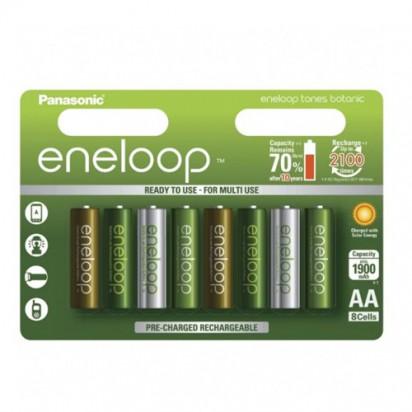 Аккумуляторы Panasonic Eneloop AA 1900mAh 8BP Botanic Edition (BK-3MCCE/8TE) 8шт