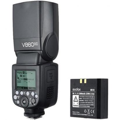 Вспышка Godox VING V860IIN TTL Li-Ion Kit для Nikon