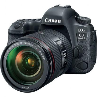 Фотоаппарат Canon EOS 6D Mark II kit 24-105mm f/4.0L IS USM II
