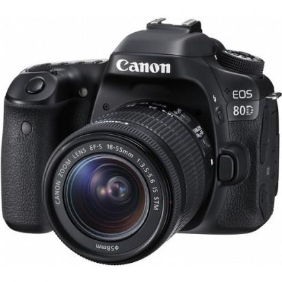 Фотоаппарат Canon EOS 80D kit 18-55mm f/3.5-5.6 III