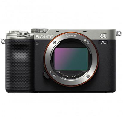 Фотоаппарат Sony Alpha A7C (серебристый)