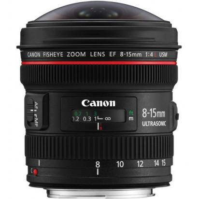 Объектив Canon EF 8-15mm f/4L Fisheye USM