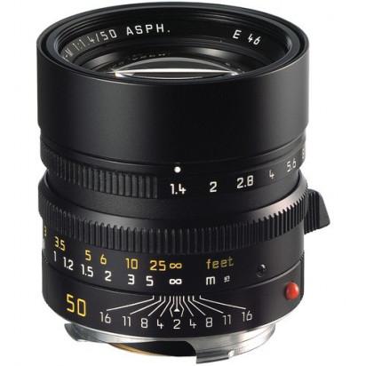 Объектив Leica Summilux-M 50mm f/1.4 ASPH. (Black)