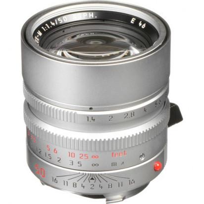 Объектив Leica Summilux-M 50mm f/1.4 ASPH. (Silver)