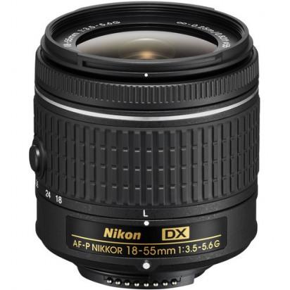 Объектив Nikon AF-P DX NIKKOR 18-55mm f/3.5-5.6G