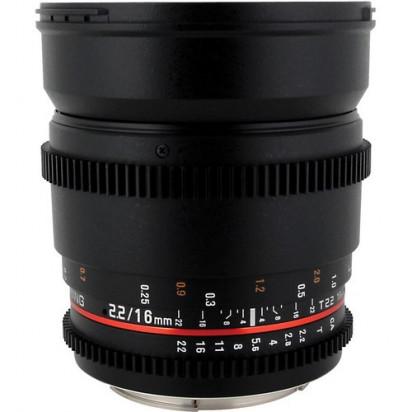Объектив Samyang 16mm T2.2 ED AS UMC CS VDSLR Canon EF