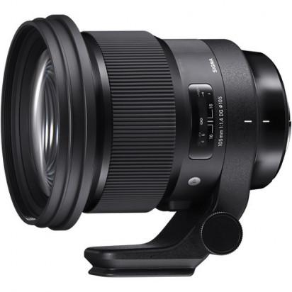 Объектив Sigma 105mm f/1.4 DG HSM Art для Nikon