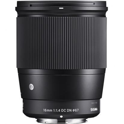 Объектив Sigma 16mm f/1.4 DC DN Contemporary для MFT