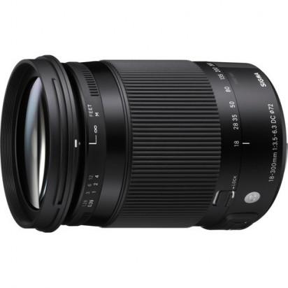 Объектив Sigma 18-300mm f/3.5-6.3 DC MACRO OS HSM Contemporary для Canon