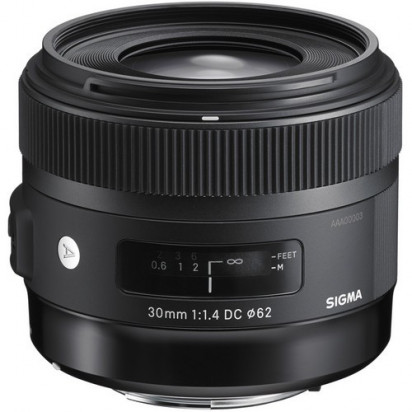 Объектив Sigma 30mm f/1.4 DС HSM Art для Nikon
