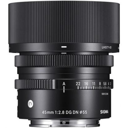 Объектив Sigma 45mm f/2.8 DG DN Contemporary для Sony E