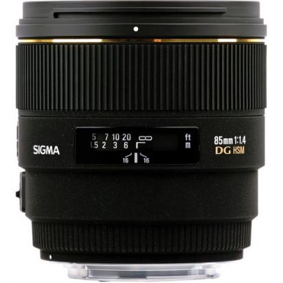 Объектив Sigma 85mm f/1.4 EX DG HSM для Nikon