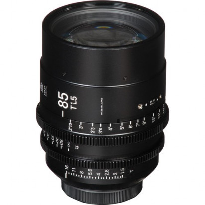 Объектив Sigma 85mm T1.5 FF High-Speed Prime (EF Mount, Meters)