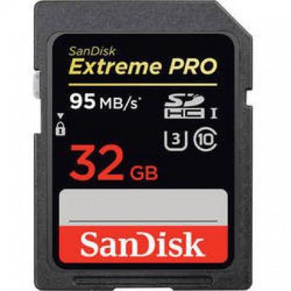 Карта памяти SanDisk Extreme Pro SDHC UHS-I 32Gb 95MB/s