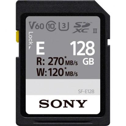 Карта памяти Sony 128GB SF-E Series UHS-II SDXC Memory Card