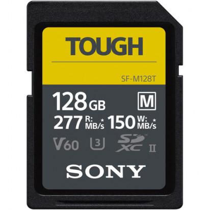 Карта памяти Sony 128GB SF-M Tough Series UHS-II SDXC 150Mb/s