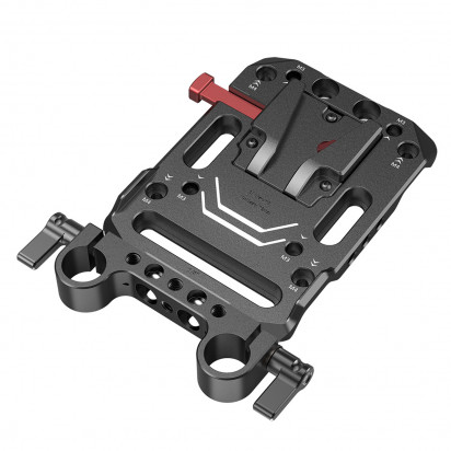 Плата для V-mount SmallRig V Mount Battery Plate with Dual 15mm Rod Clamp 3016