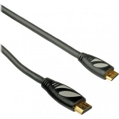 Кабель Pearstone High-Speed Mini-HDMI to Full-HDMI 3' / 0.91 m