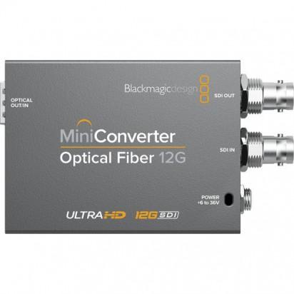 Конвертер Blackmagic Design Mini Optical Fiber 12G-SDI