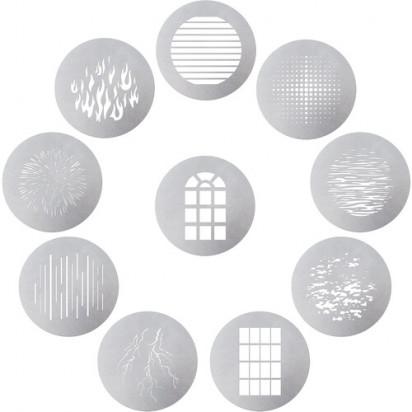 Набор из 10 гобо Aputure 10-Piece Gobo Kit для Aputure Spotlight