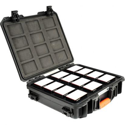 Комплект светодиодных осветителей Aputure MC 12-Light Travel Kit with Charging Case
