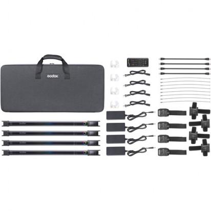 Комплект светодиодных осветителей Godox TL60*4 kit