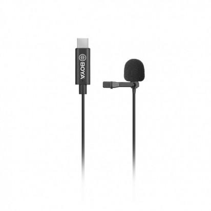 Петличный для сматрфонов Android USB Type-C Boya BY-M3