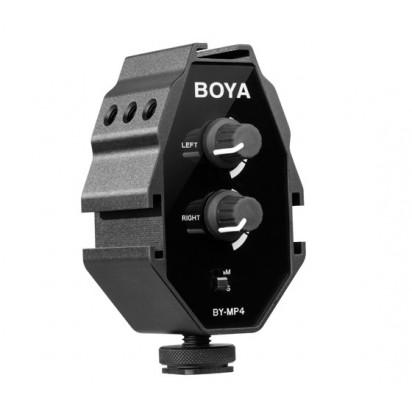 Звуковой адаптер Boya BY-MP4